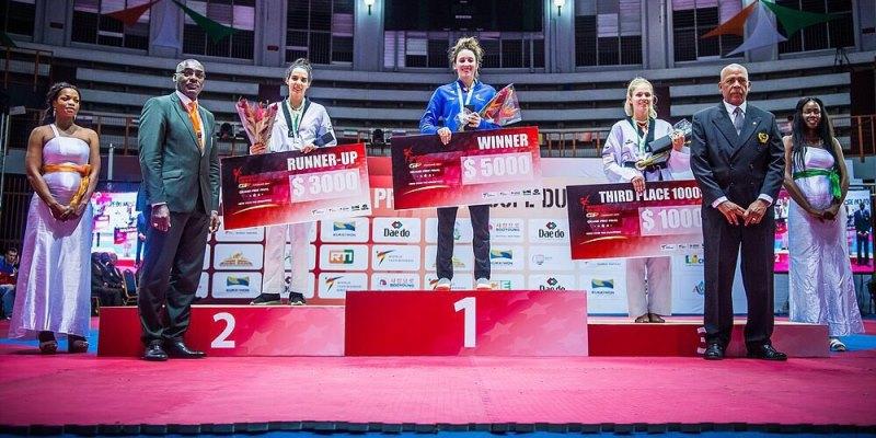 Татьяна Кудашова - бронзовый призёр финала Мировой серии Гран при по тхэквондо. Поздравляем!