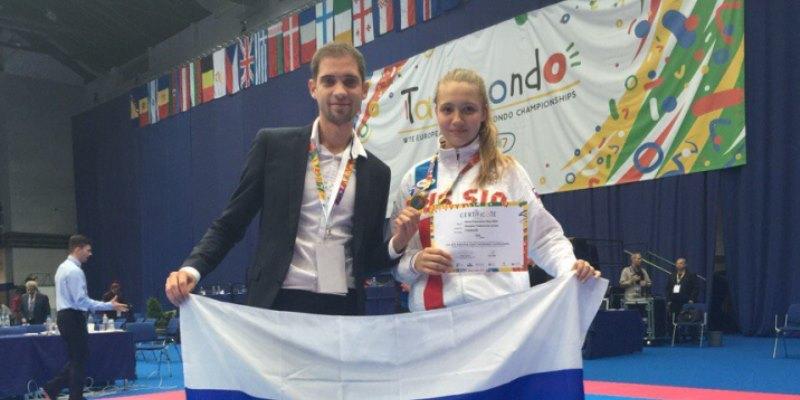 Победа на первенстве Европы среди кадетов в Венгрии