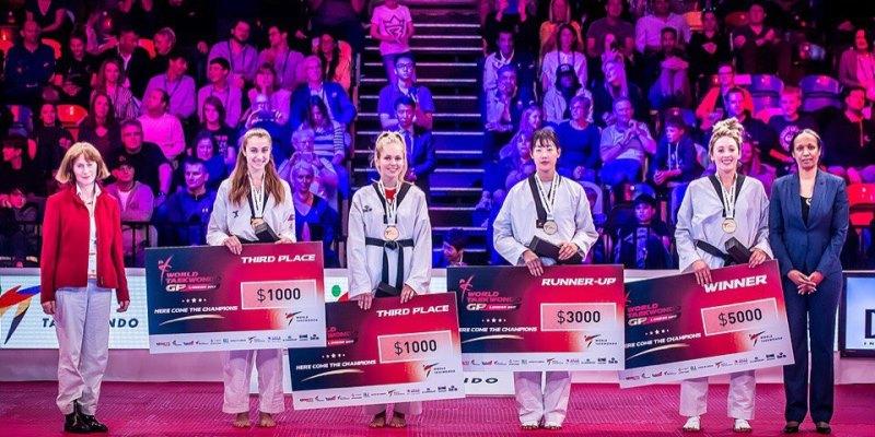 Южноуральская тхэквондистка Татьяна Кудашова завоевала бронзу мировой серии Гран при