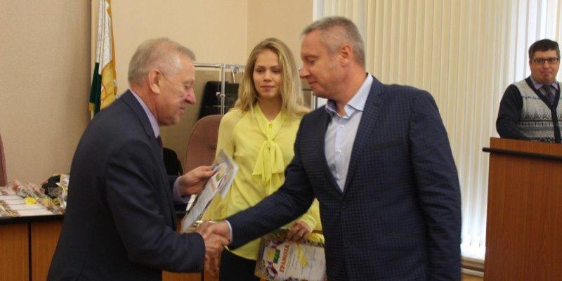 Татьяну Кудашову наградили в Администрации Челябинска