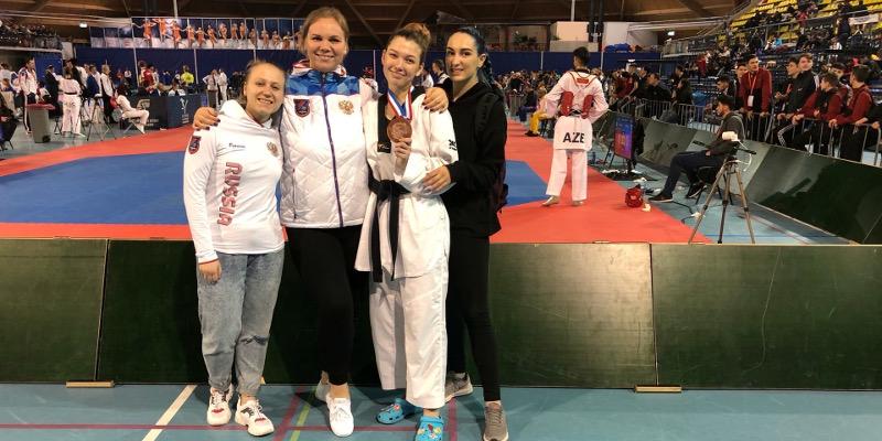 Кристина Прокудина завоевала бронзу крупного международного турнира в Нидерландах