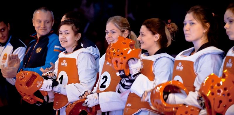 В Челябинске прошел чемпионат общества «Динамо» по тхэквондо ВТФ